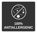 100% antiallergenic perdormire