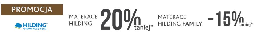 promocja hilding -20% -15% na salonsnu.pl